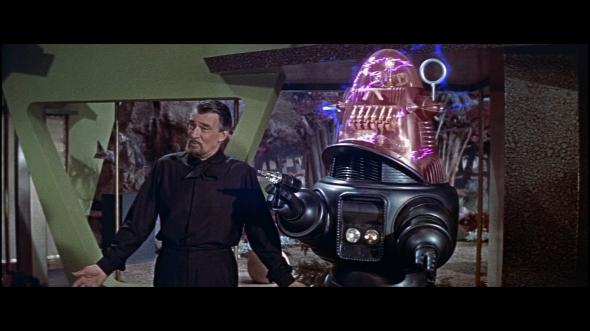 Perigo, perigo... Ah, não. Isso é outro robô.