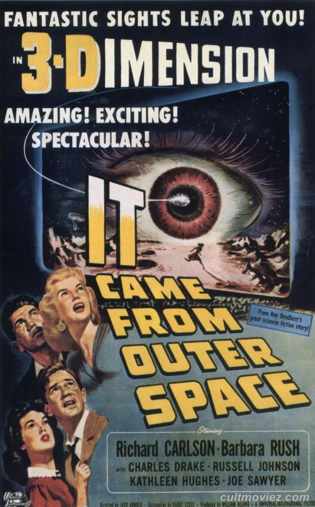 POSTER - IT CAME FROM OUTER SPACE (3)
