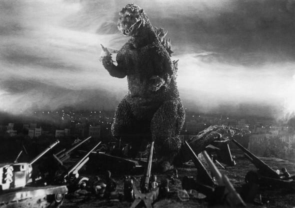Nem Jaspion, nem Ultraman, nem Ultraseven podem com Godzilla