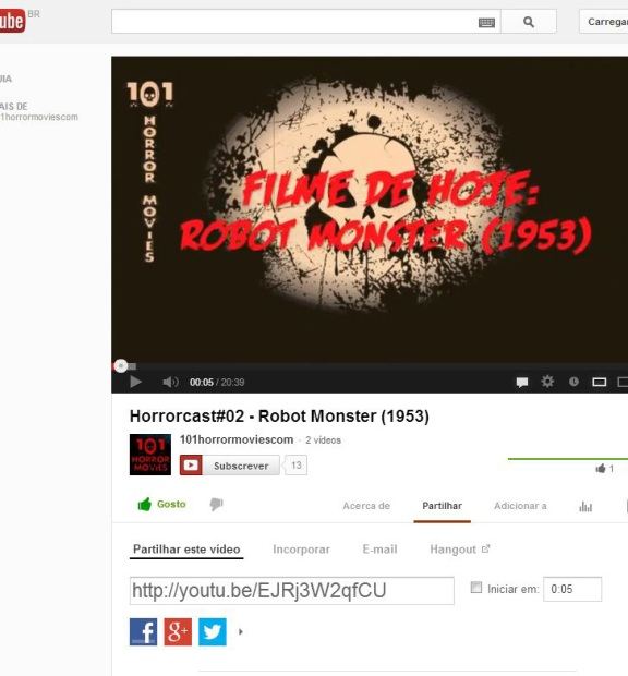 FireShot Screen Capture #058 - 'Horrorcast#02 - Robot Monster (1953) - YouTube' - www_youtube_com_watch_v=EJRj3W2qfCU