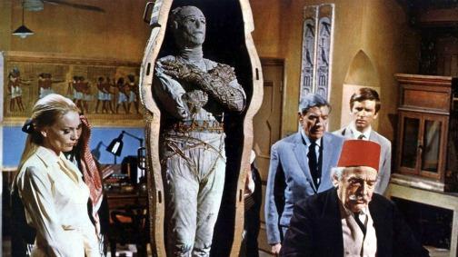 Contemple a múmia, que não é Karloff e nem Lee.