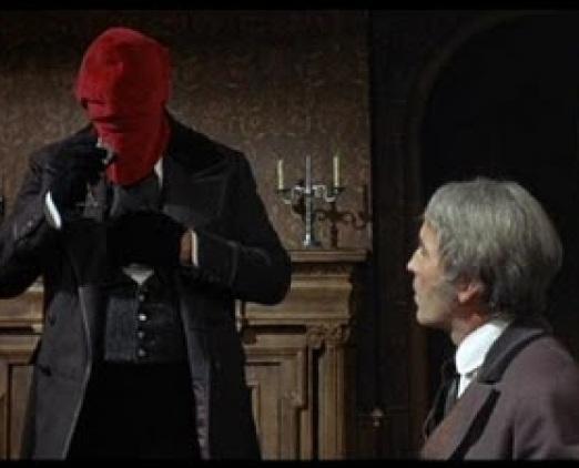 O homem da máscara vermelha