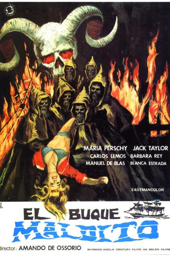 El Buque Maldito 1974 poster