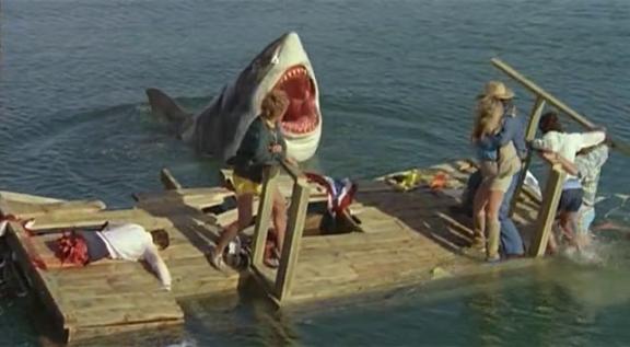 Andou na prancha, cuidado, tubarão vai te pegar