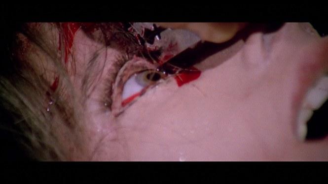 Sangue nos olhos!