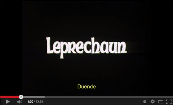 Horrorcast 55   O Duende  1993    YouTube