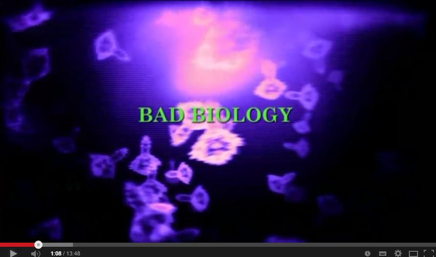 Horrorcast 57   Bad Biology  2008    YouTube