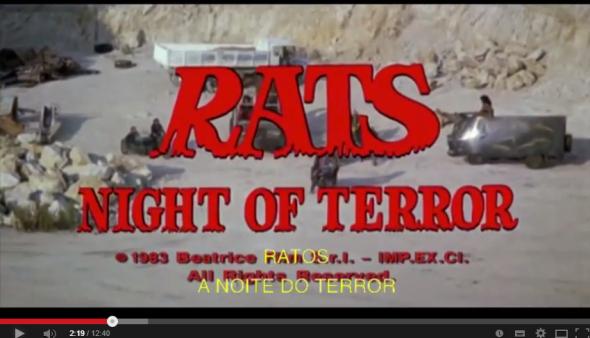 Horrorcast 58   Ratos   A Noite do Terror  1984    YouTube