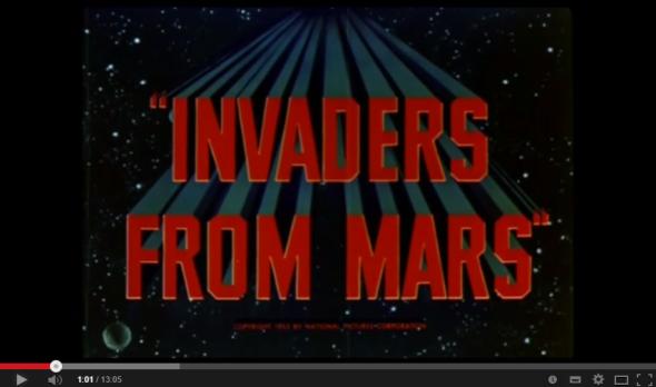 Horrorcast 59   Os Invasores de Marte  1953    YouTube