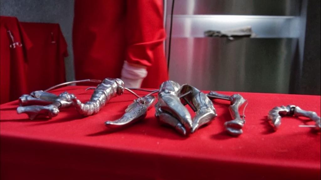 Instrumentos ginecológicos para operar mutantes