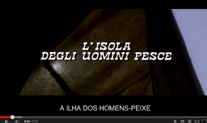 Horrorcast 65   A Ilha dos Homens Peixe  1979    YouTube