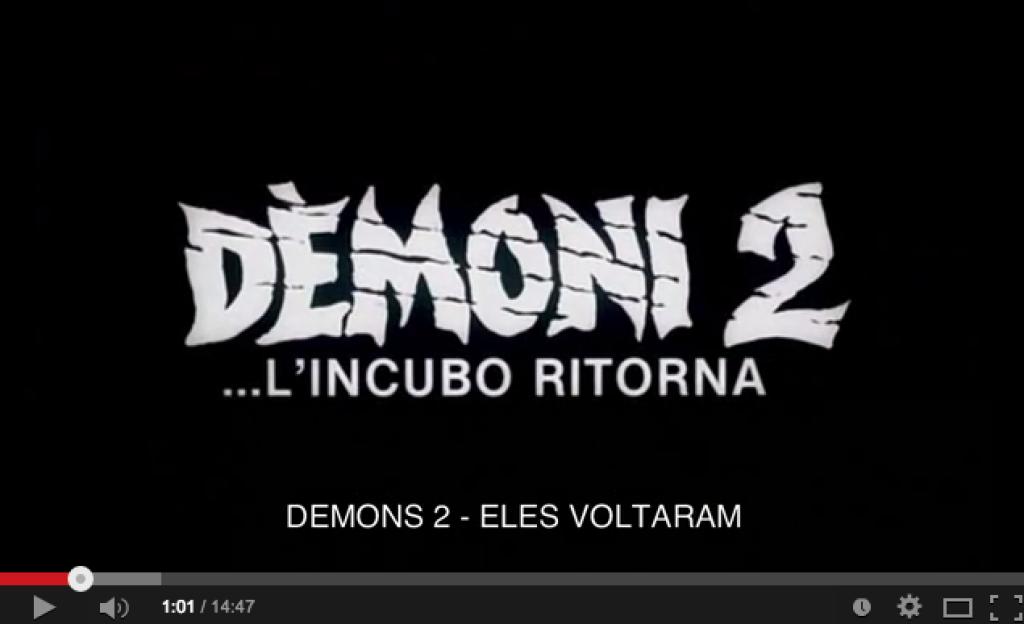 Horrorcast 666   Demons 2   Eles Voltaram  1986    YouTube