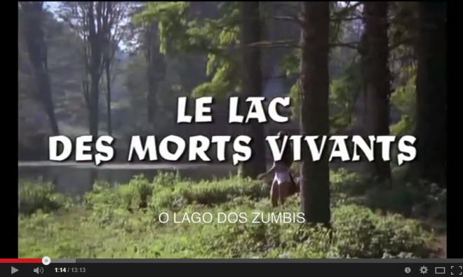Horrorcast 67   O Lago dos Zumbis  1981    YouTube