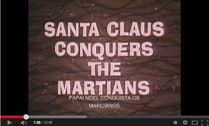 Horrrorcast 69   Papai Noel Conquista os Marcianos  1964    YouTube