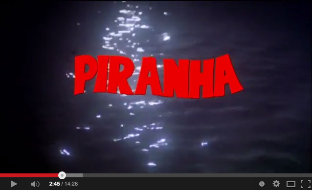 Horrorcast 70   Piranha  1978    YouTube