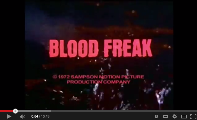 Horrorcast 71   Blood Freak  1972    YouTube