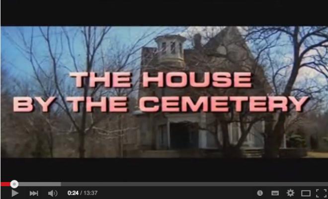 Horrorcast 72   A Casa do Cemitério  1981    YouTube