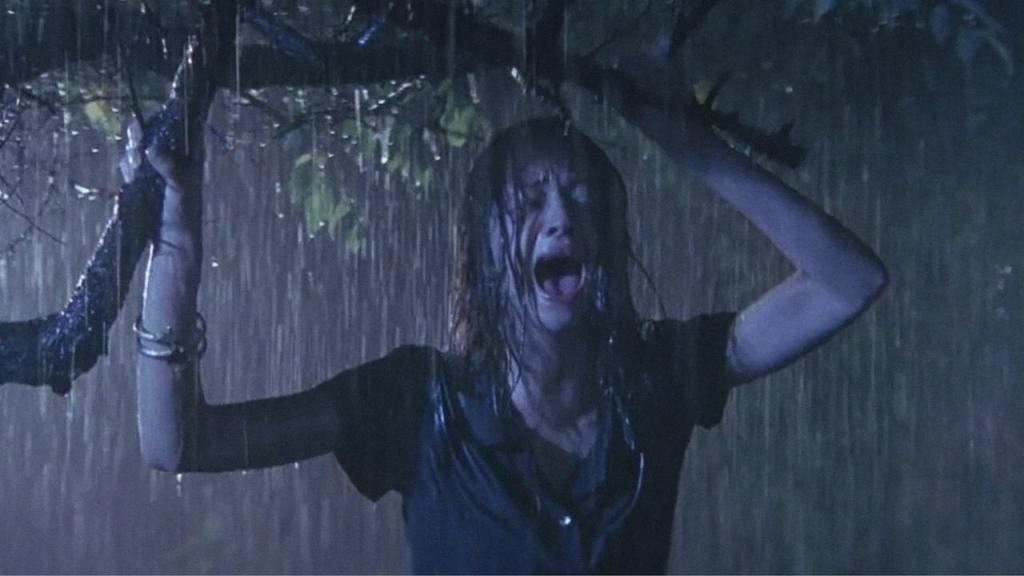 Gritando na chuva