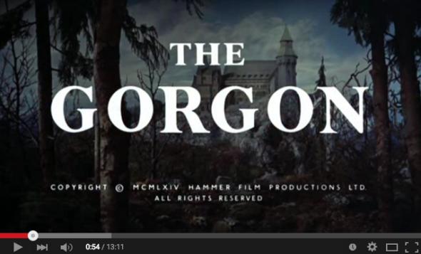 Horrorcast 83   A Górgona  1964    YouTube