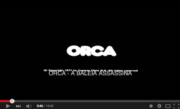 Horrorcast 84   Orca   A Baleia Assassina  1977    YouTube